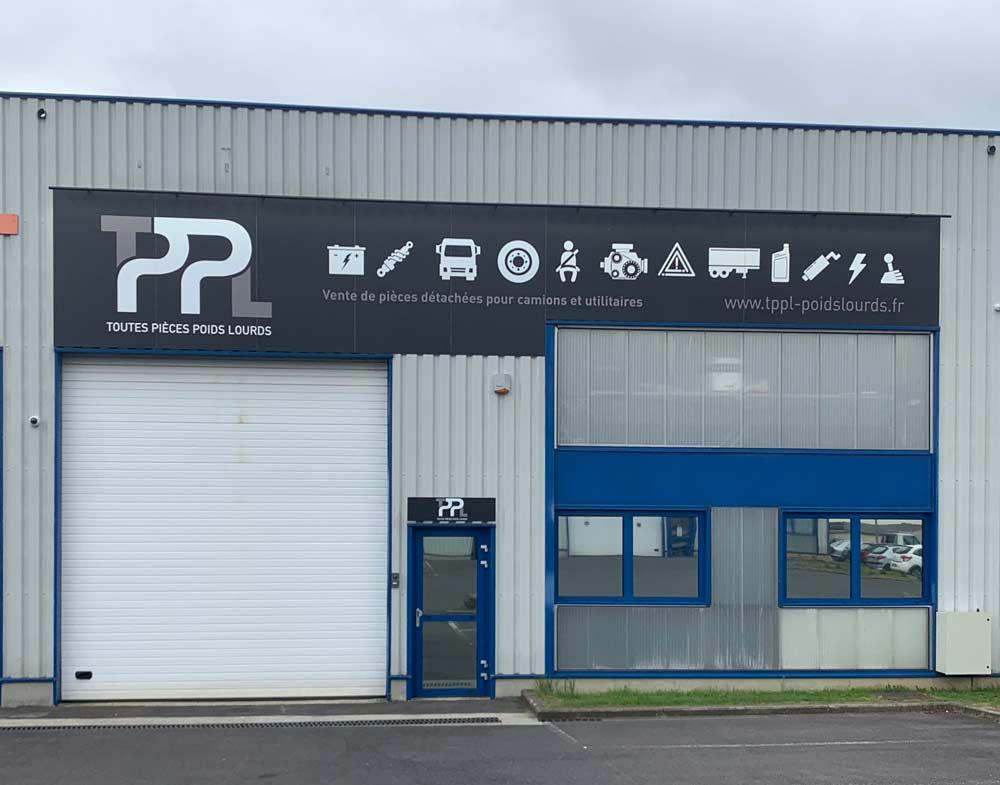 façade de TPPL à Seclin